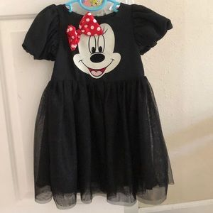 Black Minnie Mouse Dress